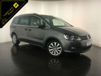 2013 VOLKSWAGEN SHARAN SEL TDI 7 SEATER 1 OWNER SERVICE HISTORY FINANCE PX