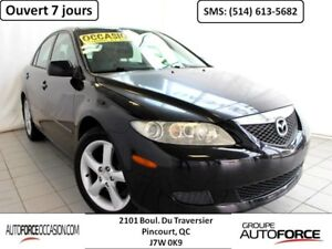 2005 Mazda Mazda6 AUT 4CYL AC MAGS TOUTE EQUIPE MAGS