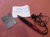 Great Remington Steam Hair Styler with instruction booklet
