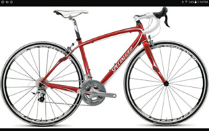 Lady,s road bike specialized ruby expert