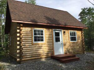 New log cottage