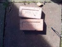 HOUSE BRICK ABOUT 45 £10 THE LOT MAY BE ABLE TO DELIVER
