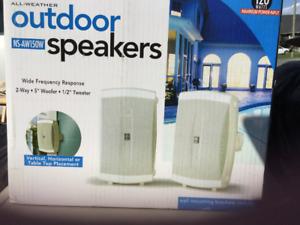 outdoor speakers neufs