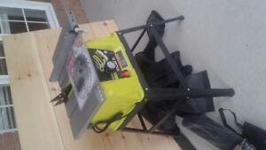 New Ryobi table saw