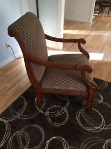 2 accent side chairs