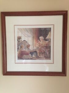 "Trisha Romance limited edition ""Storyteller"" Print with book"
