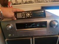 Denon receiver & acoustic solutions speakers