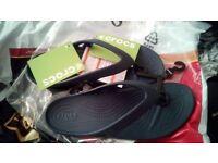Crocs womens kadee II flip flops size 6 uk