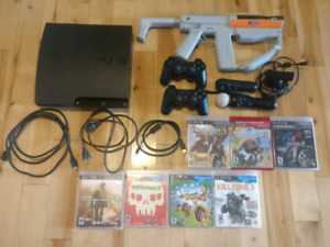 Playstation 3 PS3 move bundle and games