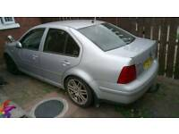 Volkswagen bora tdi 130 bhp highline 6speed for parts or repair £500 ono