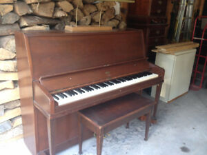 Free Upright Piano - Apartment size- $50 moving credit paid