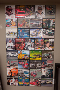nascar collectible cars hats posters framed art tin signs & more
