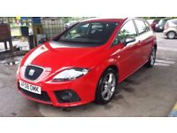 Seat Leon 2.0 TSI FR DSG Turbo 5 door Service History Drives Perfect 2008
