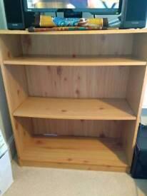 Bookcase - pine colour