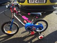 Boys Decathlon bike (excellent condition - barely used!) suitable for young boy 3-5 approx.