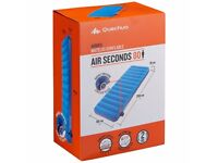 Single AirBed QUECHUA Air Seconds 80 Inflatable Camping/Trekking