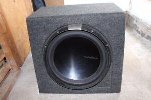 Haut parleur d'extrême grave Rockford Fosgate Power T2D215 1200w
