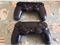 PlayStation 4 games/controllers