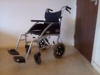 Days Swift Mobility Lightweight Folding Wheelchair With Brakes