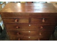 Chest of Drawers, Old ,Vintage.
