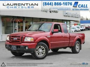2010 Ford Ranger Sport-4X4+4.0L+LOW KMS!!!