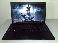 "GAMING TOSHIBA 15,6"" - 8 GB - AMD ESERIES - DEDICATED RADEON - WARRANTY - UK DELIVERY"