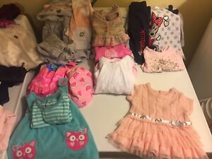 Girls clothing sizes 6-9mths and 9mths