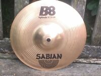 "Cymbals - Sabian B8 10"" Splash Cymbal Very Good Condition"
