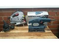 Wickes, jigsaw and electric orbital sander