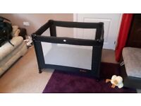 Red Kite travel cot in very good condition