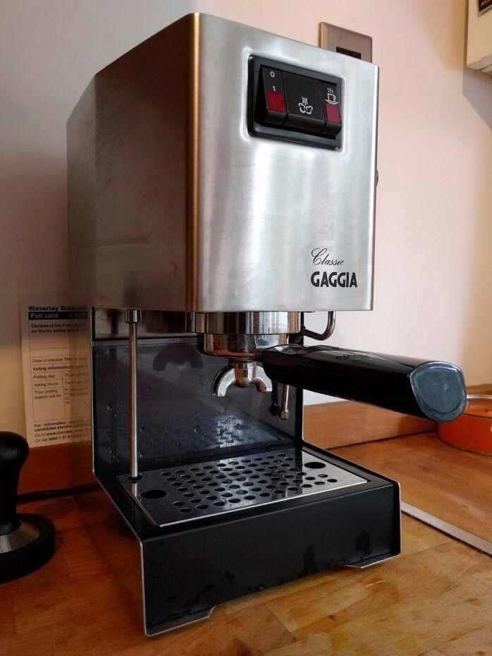 Vgc 2003 Gaggia Classic Espresso Machine With Extras In