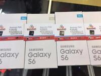 SAMSUNG GALAXY S6 UNLOCKED BRAND NEW BOXED WARRANTY