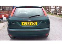 Ford Focus 1.6 Zetec 3 Door Petrol Spares or Repair