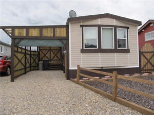 Mobile home on own lot in Cayley