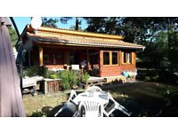 Naturist Modern Chalet MONTALIVET by the sea. France. £64000