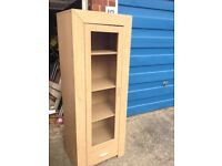 Pine chest of draws plus beech unit