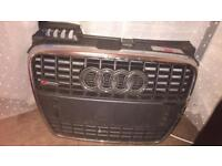 Audi A4 s line front grill off 2007