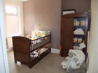 i love my bear cot bed wardobe and changing table