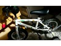 Adapt 12 inch bike with stabilizers