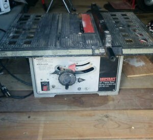 """10"""" Table Saw w/ new Blade"""