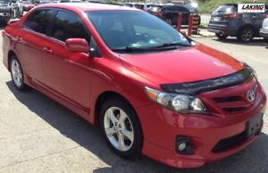 2013 Toyota Corolla Sport REMOTE START SUN/MOON ROOF Clean Car P