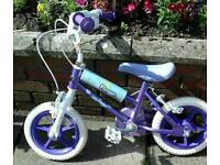 Flowers Girl first bike in new condition.