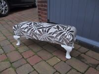 Nice small scale neat footstool