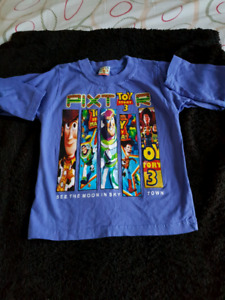 Two Character shirts size 3T