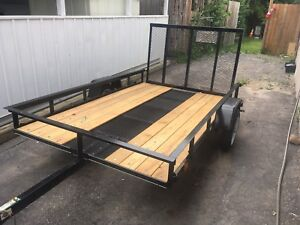 Brand new 5x8 Carry on Trailer