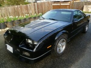 For Sale Rare Registered Collector IROC Z28