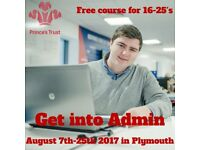 FREE Admin work experience course