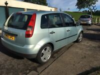 Ford Fiesta finesse 1.3 8v very cheap so is insurance and tax