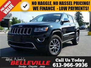 2015 Jeep Grand Cherokee Limited - Sunroof - Leatehr - Heated Se