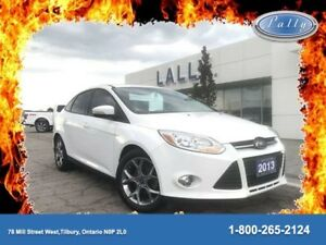 2013 Ford Focus SE, Local trade, Moonroof, Heated Seats!!!